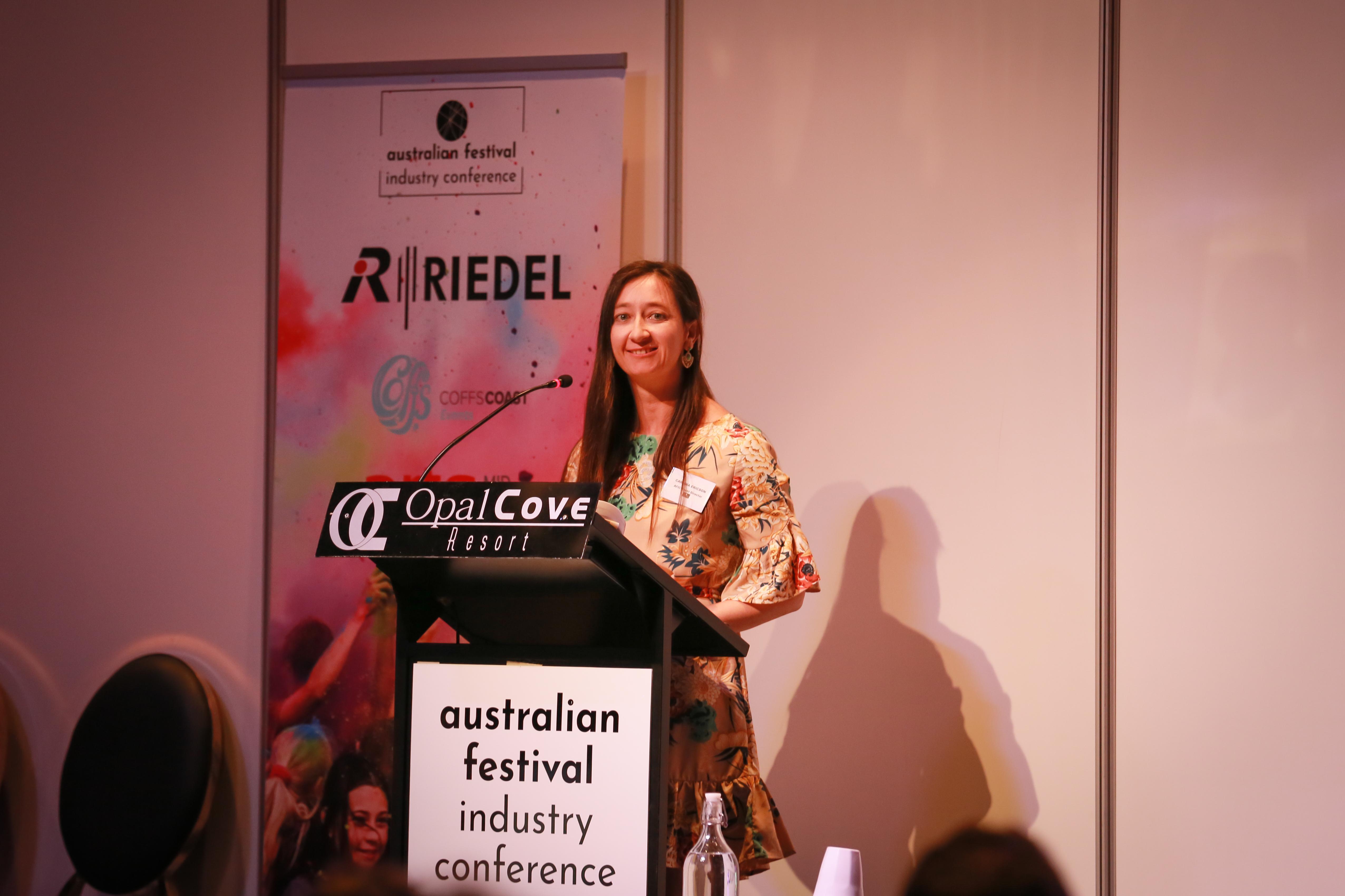 Carlina Ericson, AFIC Founder & Event Director