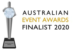 National Finalist for 'Best Achievement in Event Education or Training' in the 2020 Australian Event Awards